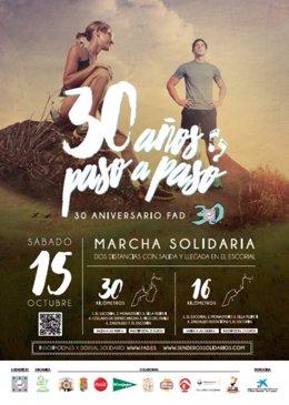 Marcha Solidaria FAD 30 Años Paso a Paso
