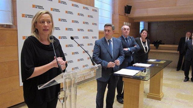 Renovación del programa PAED entre el Gobierno de Aragón y las Cámaras