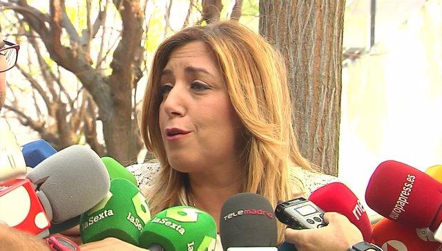 """Susana Díaz pide """"dejar actuar"""" a la gestora del PSOE"""
