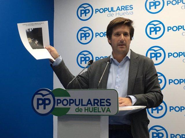 Guillermo García de Longoria denuncia la suciedad del JRJ