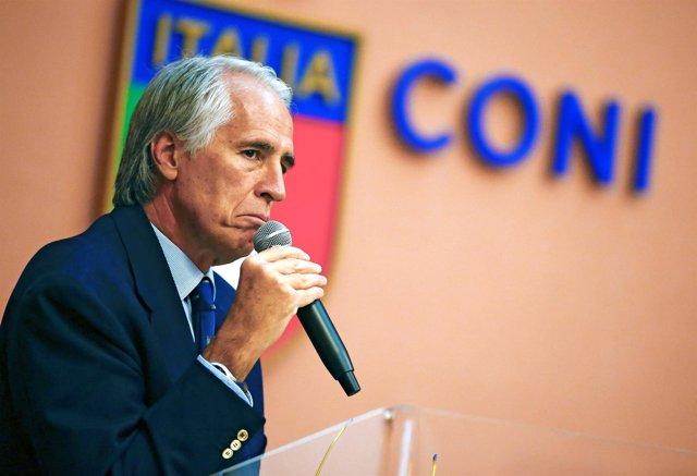 Giobanni Malago, presidente del CONI