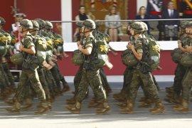 ERC pide en el Congreso suprimir los desfiles militares como el del 12 de octubre
