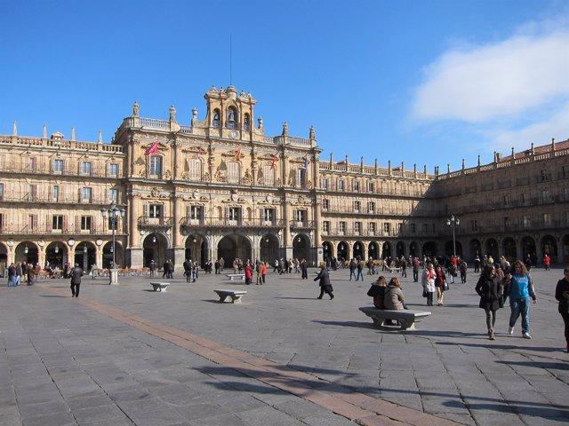 Fachada del Ayuntamiento de Salamanca