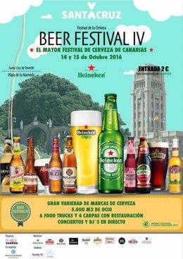 Cartel del IV Beer Festival