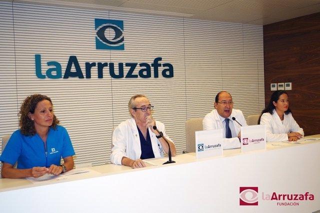 Rueda de prensa La Arruzafa