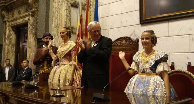 Proclamación de las Falleras Mayores de Valencia 2017