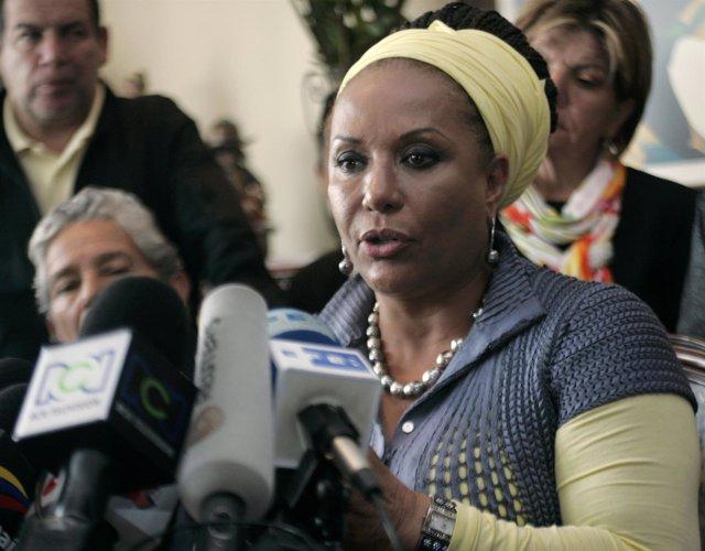 Piedad Cordoba, ex senadora colombiana
