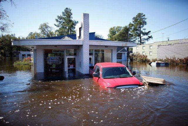 Daños de 'Matthew' en Carolina del Sur