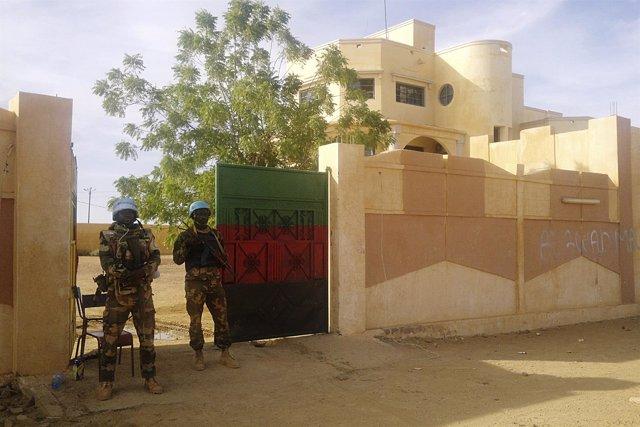 Militares de la MINUSMA en Kidal