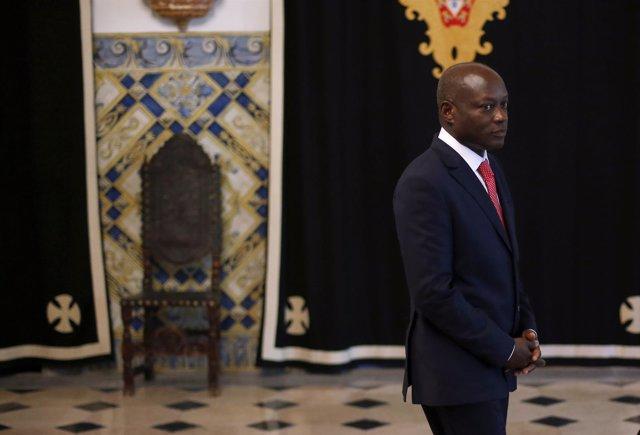 El presidente de Guinea Bissau, José Mario Vaz