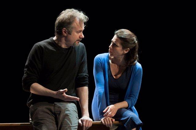 Tristán Ulloa y Alicia Borrachero en 'Tierra de Fuego'