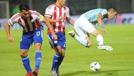Argentina se estrella ante Paraguay sin Messi