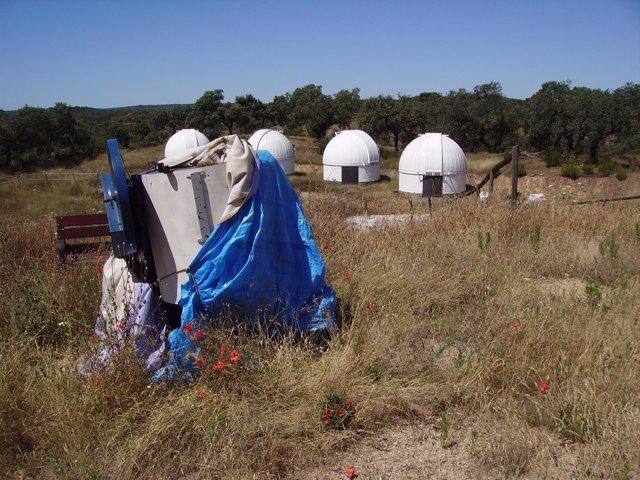 Estado del observatorio de Almadén.