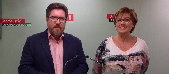 PSOE De Andalucía: AUDIOS Y FOTO De Rodrigo Sánchez Haro Y Marisa Bustinduy
