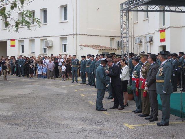Acto de la Guardia Civil en Valencia