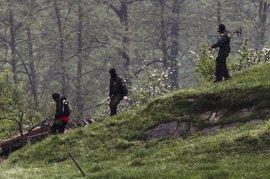 ETA ocultaba en el zulo de Francia un arsenal con armas cortas