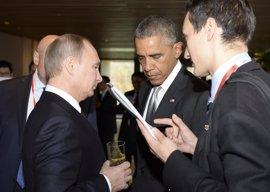 """Putin dice que es """"difícil"""" dialogar con Obama porque busca imponer sus """"dictados"""""""