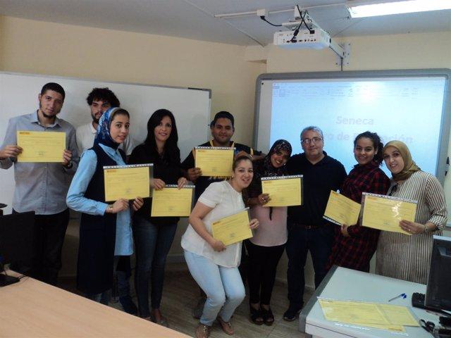 El SEPE Entrega Diplomas A Una Veintena De Parados De Melilla Que Se Han Formado