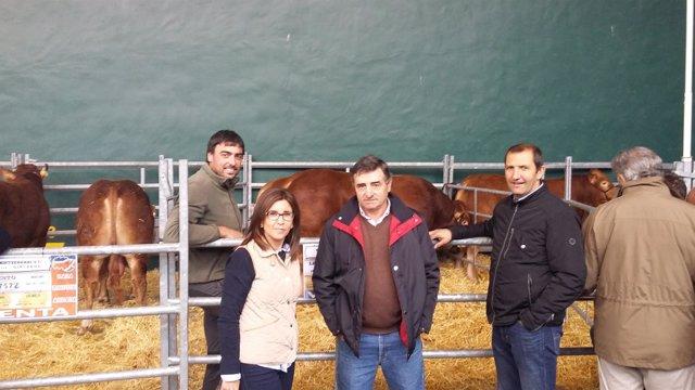 Feria de Ganado de Villoslada con visita de autoridades
