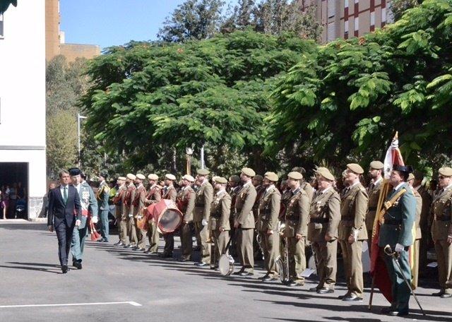 El delegado del Gobierno en Canarias, en la patrona de la Guardia Civil