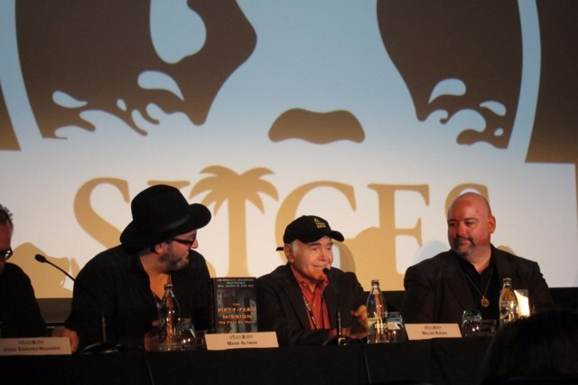 Masterclass en Sitges con W.Koenig (Star Trek)