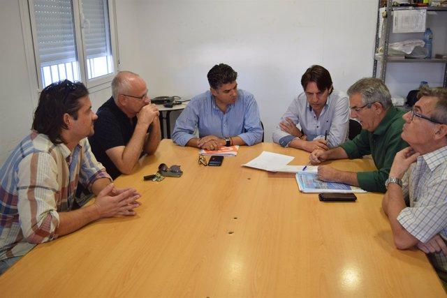 Reunión de Ciudadanos de Almería con vecinos