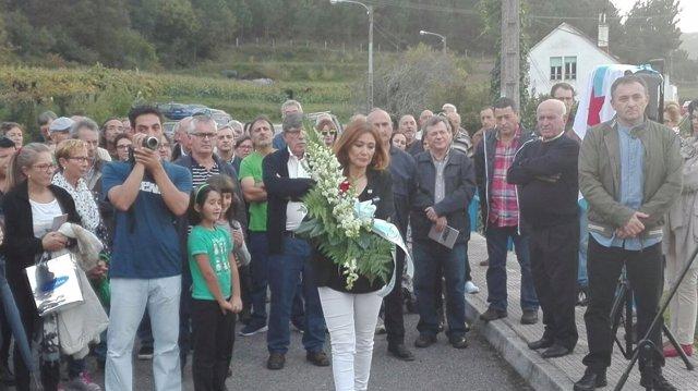 Homenaje a los 'mártires de Nebra'