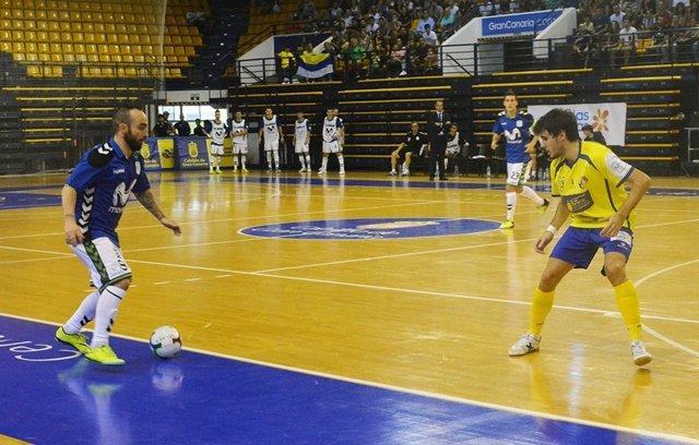 Ricardinho en el partido ante el Gran Canaria F.S.