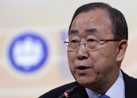 Ban Ki Moon aplaude el anuncio de Colombia y el ELN sobre el diálogo de paz