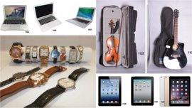 Joyas, tablets y hasta un violín: estos son los objetos perdidos que salen a subasta y por los que podrás pujar