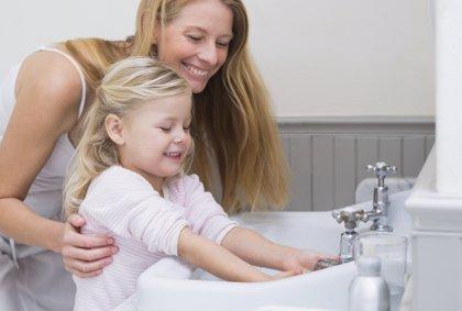 Trucos  para conseguir que los niños se laven las manos