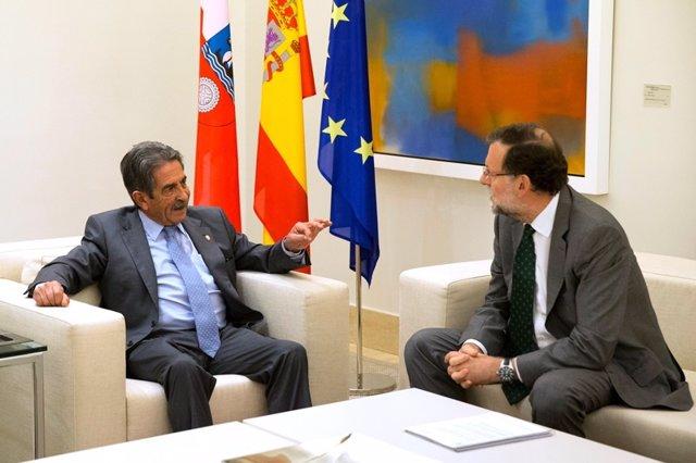 Miguel Ángel Revilla y Mariano Rajoy