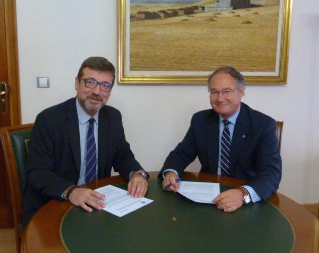 Fwd: NOTA DE PRENSA: Almirall Firma Un Convenio De Colaboración Con El Colegio O
