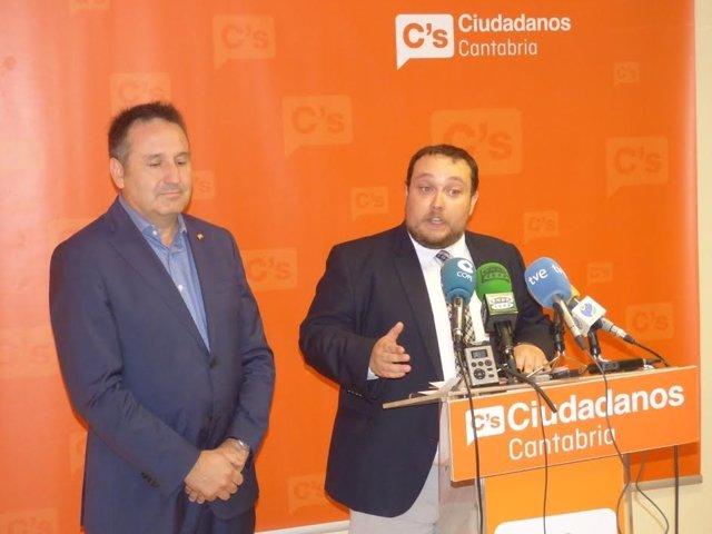 Carrancio y Gómez, de C's Cantabria