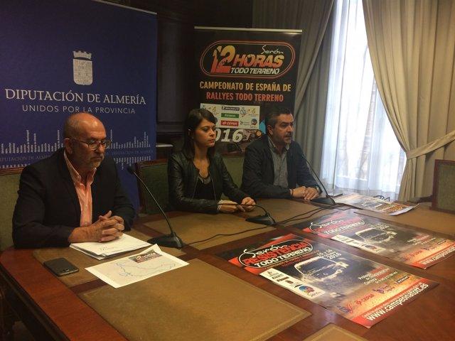 El Rally de Serón puntúa para el Campeonato de España de Rallyes Todoterreno.