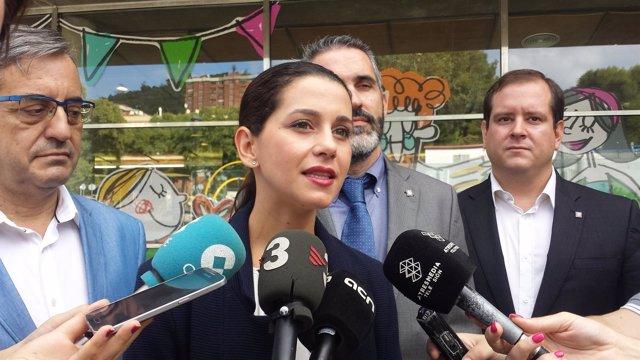 La líder de C's en Catalunya, Inés Arrimadas, en un imagen de archivo.