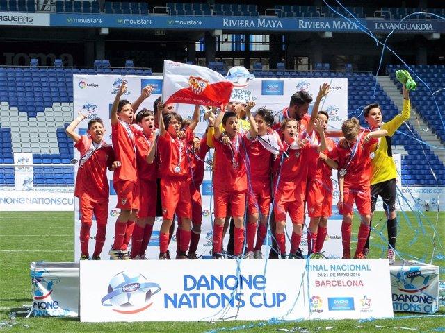 El Sevilla FC se proclama campeón de la Danone Nations Cup
