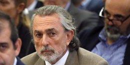 Francisco Correa y Luis Bárcenas en el juicio por Gürtel