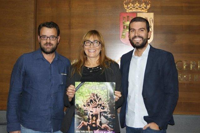 Presentación del Festival del Arte y el Movimiento del Valle del Jerte