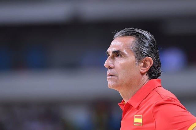 Sergio Scariolo, seleccionador español de baloncesto