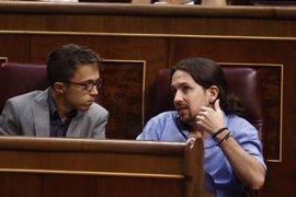 Errejon dice que está orgulloso de su labor en Podemos y rechaza debatir sobre liderazgo