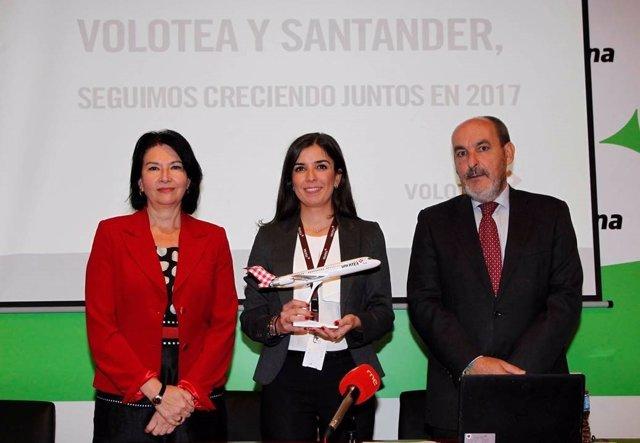 Eva Bartolomé, Cristina Pol y Bienvenido Rico