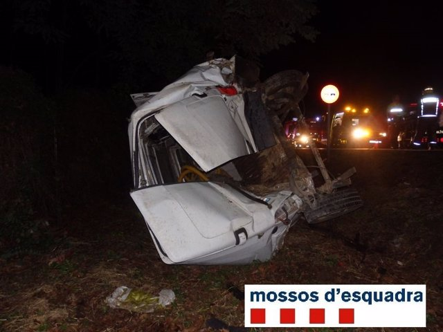Accidente en Cervià de Ter
