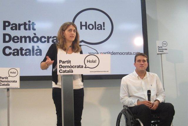 Marta Pascal, David Bonvehí (PDC)