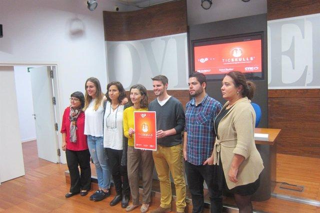 Presentación de 'Ticskulls' en el Ayuntamiento de Oviedo