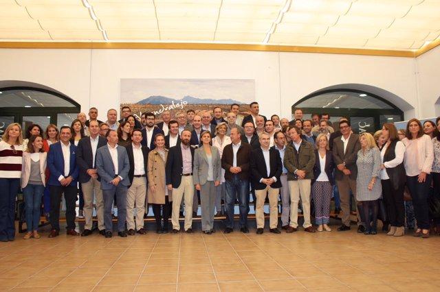 Interparlamentaria del PP en Almendralejo