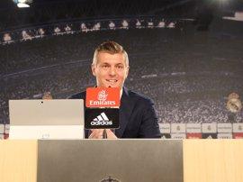 """Kroos: """"Es una opción magnífica acabar mi carrera en el Real Madrid"""""""