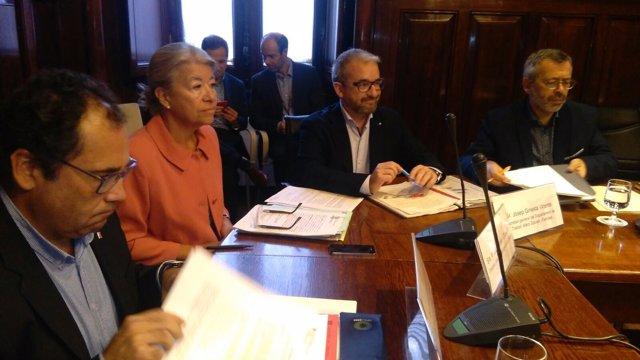 El secretario de Trabajo Josep Ginesta en comisión parlamentaria