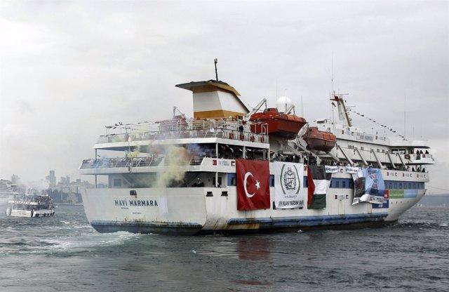 Mavi Marmara', Barco Turco Integrado En La 'Flotilla De La Libertad'