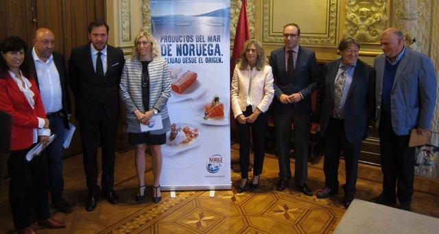Presentación del XII Concurso Internacional de Pinchos de Valladolid
